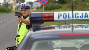 Akcja 'Prędkość'. Policja w Grodzisku Mazowieckim podzieliła się statystykami