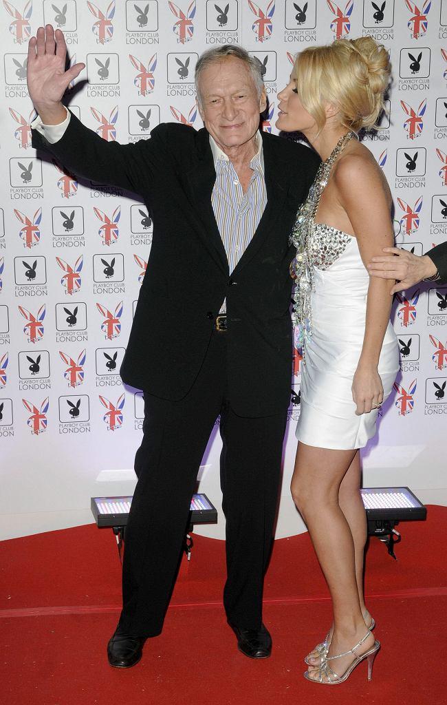 Hugh Hefner i Crystal Harris