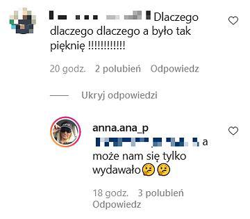 Komentarze na profilu mamy Łukasza