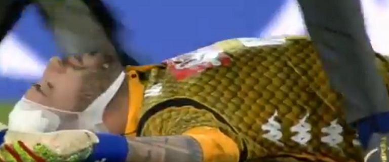 Dramatyczne sceny podczas meczu Napoli. David Ospina zemdlał na boisku