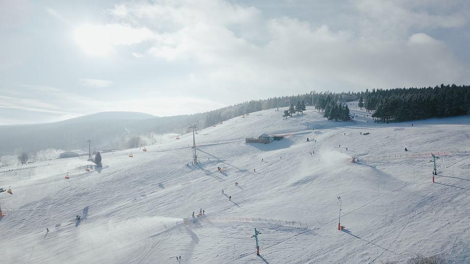 Stoki narciarskie w Zieleńcu - styczeń 2020 r.