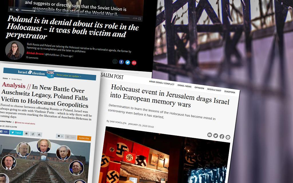 Zagraniczna prasa o Holokauście
