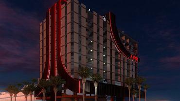 Wizualizacja hotelu Atari