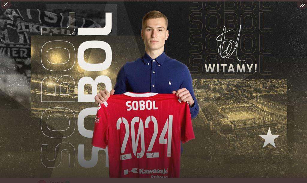 Hubert Sobol zawodnikiem Wisły Kraków