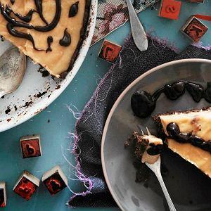 Tarta fistaszkowo-karmelowo-czekoladowa