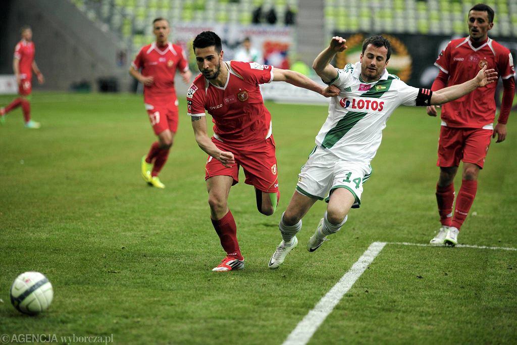 Lechia - Widzew 2:0. W środku Piotr Wiśniewski
