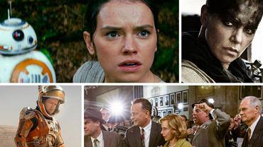 10 najlepszych filmów 2015 roku według Amerykanów