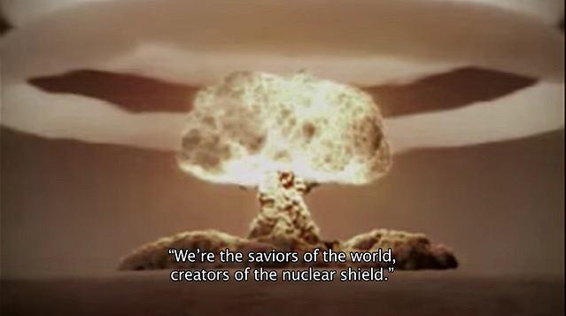 'Jesteśmy wybawicielami wszechświata, stwórcami tarczy nuklearnej'