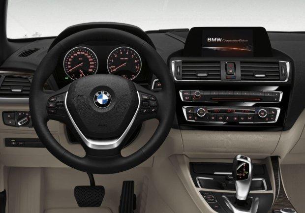 BMW serii 2 - wnętrze