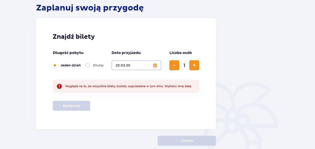 Park of Poland - bilety na pierwsze dni już wyprzedane