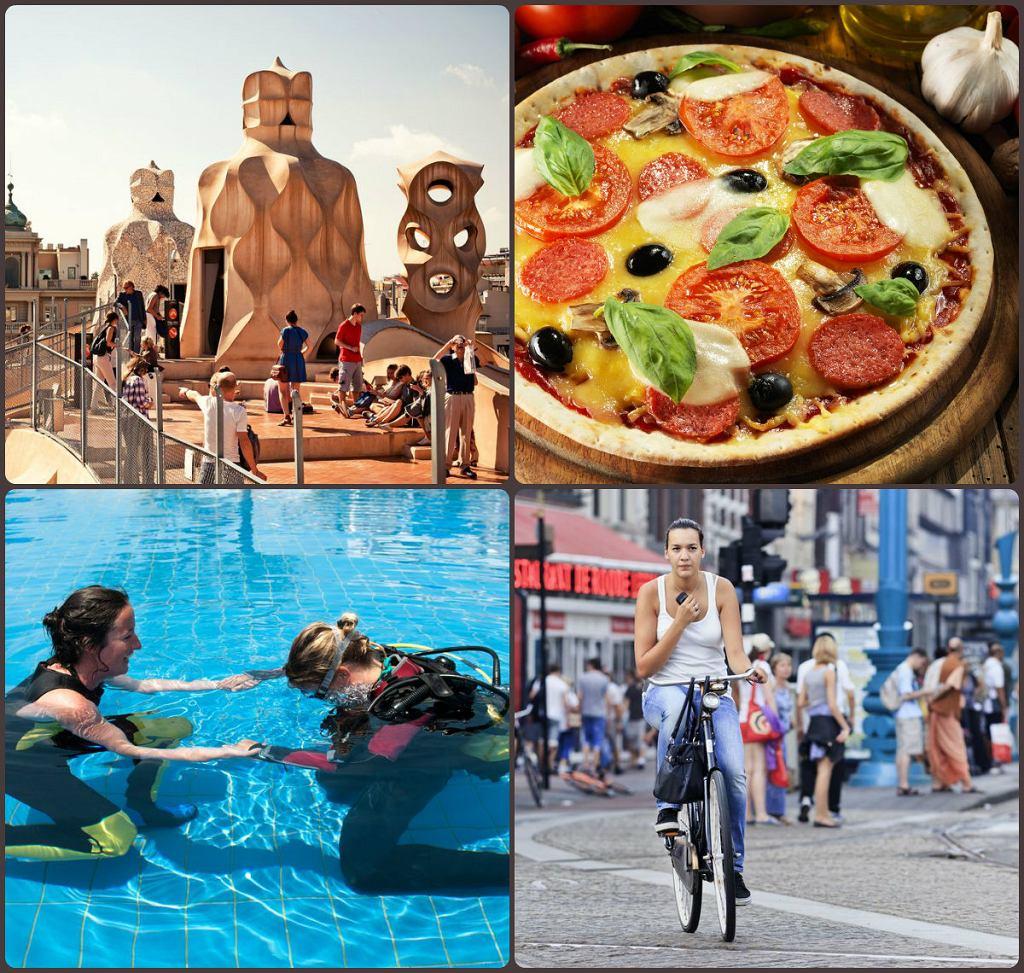 Barcelona na weekend, Amsterdam na rower, nurkowanie i włoska kuchnia - oto zwycięzcy naszych letnich sondaży