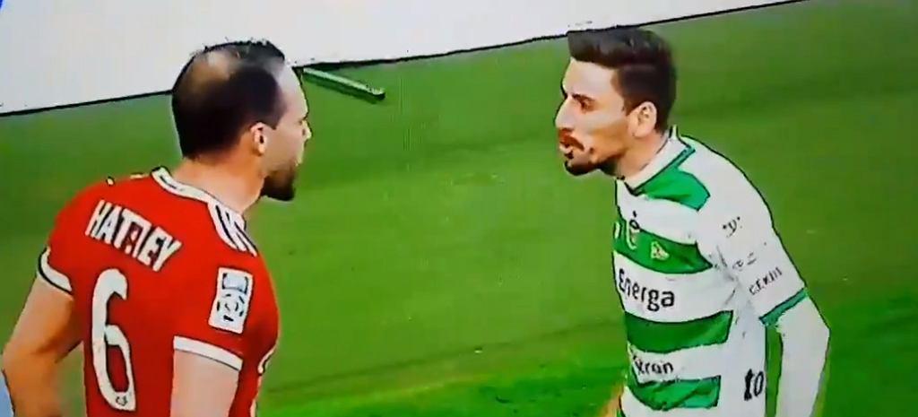Czy Filip Mladenović opluł Toma Hateleya?