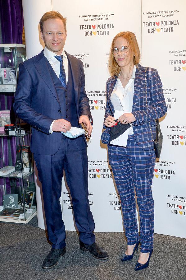 Maciej Stuhr, Katarzyna Błażejczyk-Stuhr
