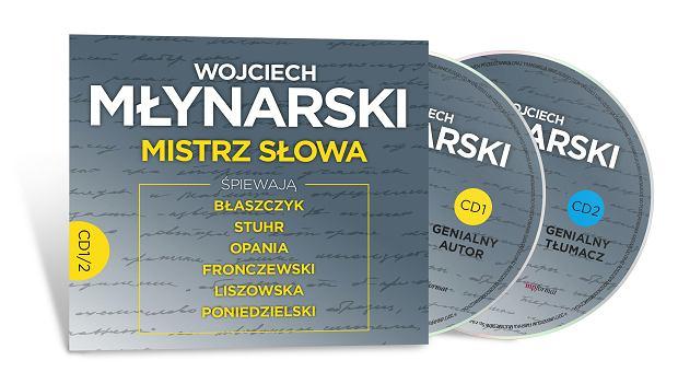 Dwupłytowy album 'Wojciech Młynarski. Mistrz słowa'