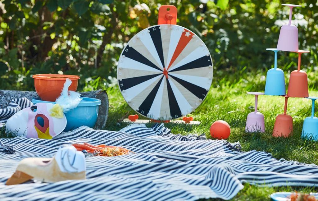 Piknik pełen kolorów