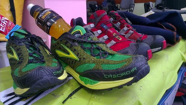 Brooks Cascadia 7 - buty do biegania w terenie, testowane między innymi na Mistrzostwach Europy w Rajdach Przygodowych AREC 2013