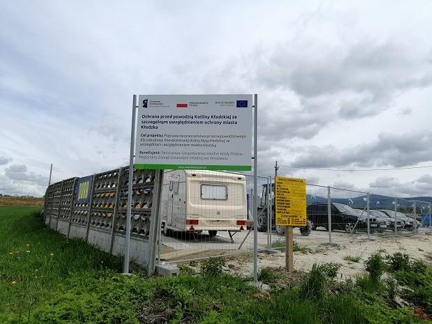 Budowa zbiornika Roztoki w Kotlinie Kłodzkiej