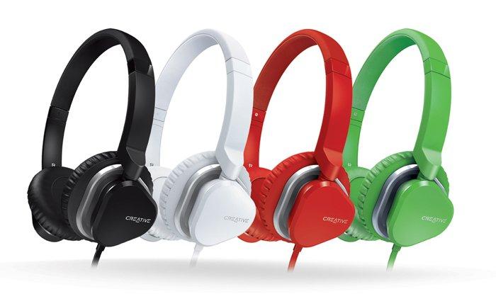 Creative Hitz MA2400 dostępne będą w czterech kolorach. Cena - 199 zł