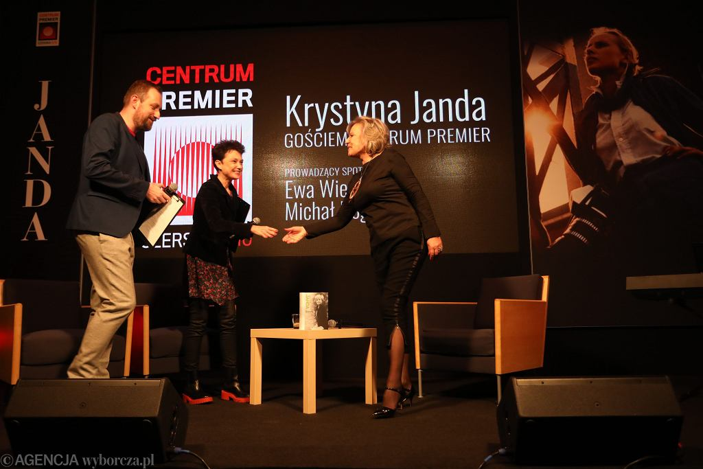 Centrum Premier - Krystyna Janda