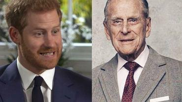 Książę Harry jest łudząco podobny do dziadka?