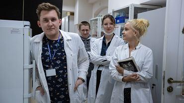 Instytut Chemii Bioorganicznej Polskiej Akademii Nauk . Część zespołu badawczy, który opracował autorski test na obecność koronawirusa