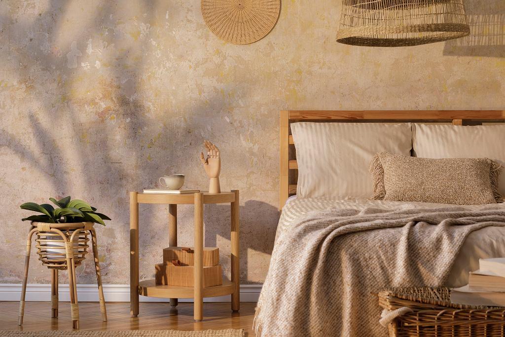 Naturalna sypialnia.