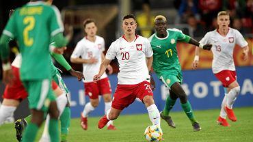 Marcel Zylla w meczu Polska - Senegal