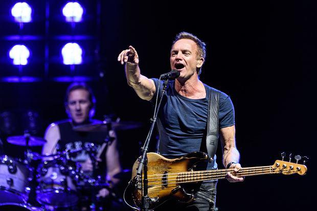 Koncert Stinga w Moskwie