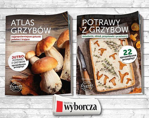 Specjalne dodatki dla grzybiarzy i smakoszy grzybów z 'Gazetą Wyborczą'