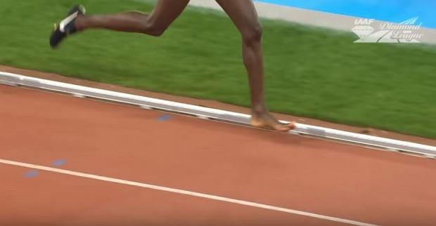 Diamentowa Liga. Conseslus Kipruto triumfował w bieg na 3000 m z przeszkodami bez jednego buta