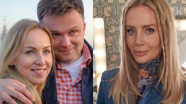 Szymon Hołownia z żoną, Agnieszka Woźniak-Starak