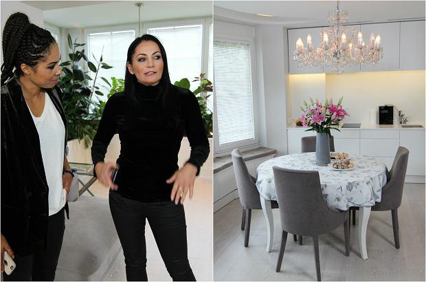Zdjęcie numer 0 w galerii - Agnieszka Rylik lubi elegancję i minimalizm, ale spójrzcie tylko na salon. Najlepsza garderoba. Bajeczna!