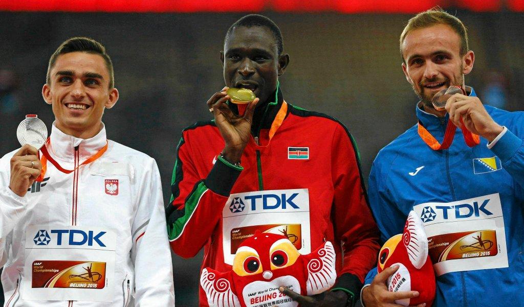 Adam Kszczot ze srebrnym medalem MŚ