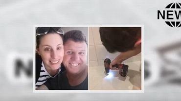 Mężczyzna z Australii wymyślił oryginalny trik na szybkie i skuteczne czyszczenie fug. Użył do tego szczoteczki do zębów i wiertarki