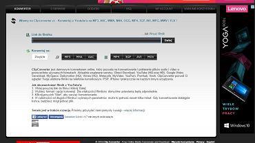 Przetwarzanie filmów YouTube na pliki mp3 ma być zabronione