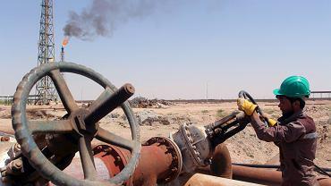 Rafineria ropy naftowej na południu Iraku