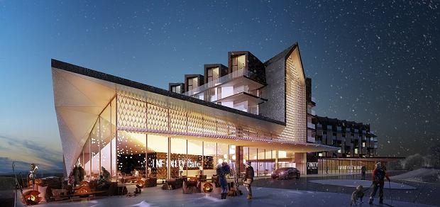 Wizualizacja inwestycji aparthotel Infinity Ski&Spa