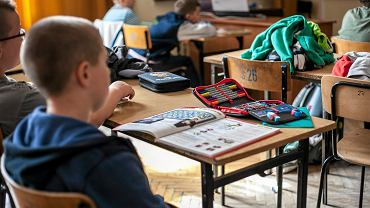 Uczniowie (zdjęcia ilustracyjne)