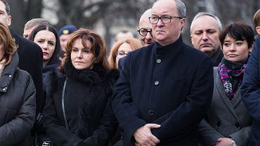 Gabriela Morawska-Stanecka i Włodzimierz Czarzasty