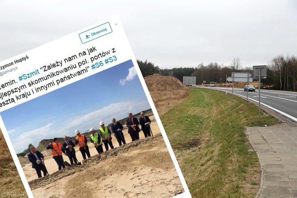 Oficjalnie rozpoczęto budowa odcinka S6 Goleniów - Koszalin
