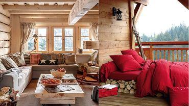 Wnętrze w stylu górskiego domu