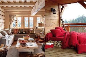 """""""Chalet style"""" - jak uzyskać klimat górskiej chaty we własnym domu?"""
