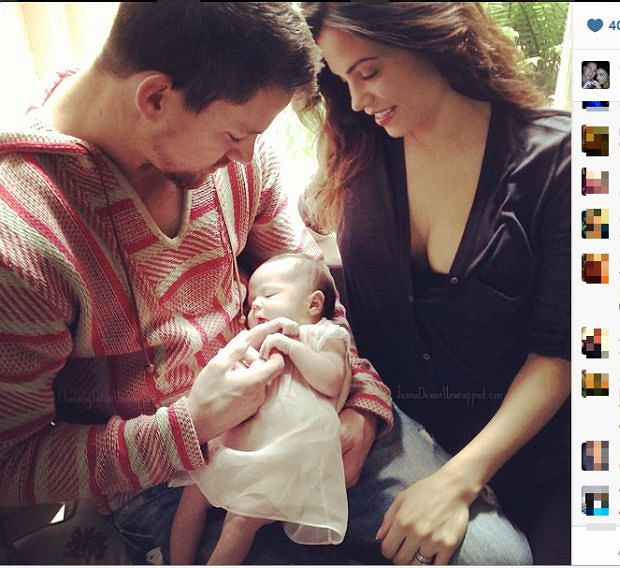 Channing Tatum, córka, Everly