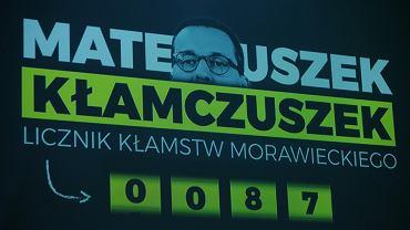 Licznik kłamstw Morawieckiego
