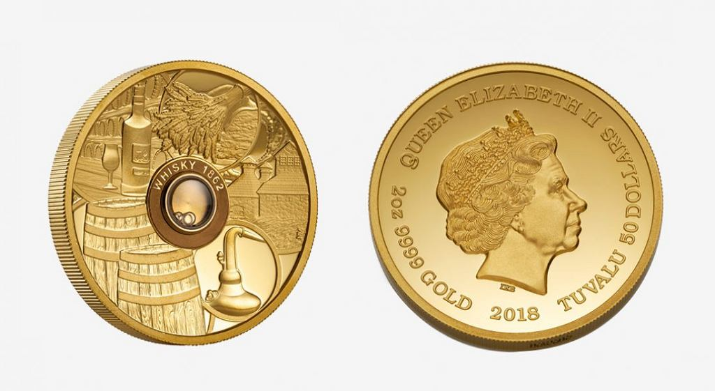 Whisky coin