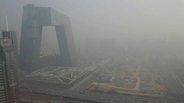 Smog poważnie ogranicza widoczność w mieście