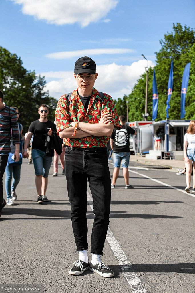 Ralph na Warsaw Orange Festivalu / DAWID ŻUCHOWICZ