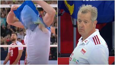 Vital Heynen podczas meczu Polska - Słowenia na ME w 2019 roku