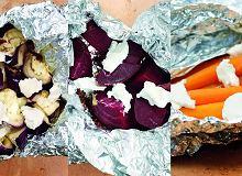 Grillowane warzywa z serem kozim i tymiankiem - ugotuj