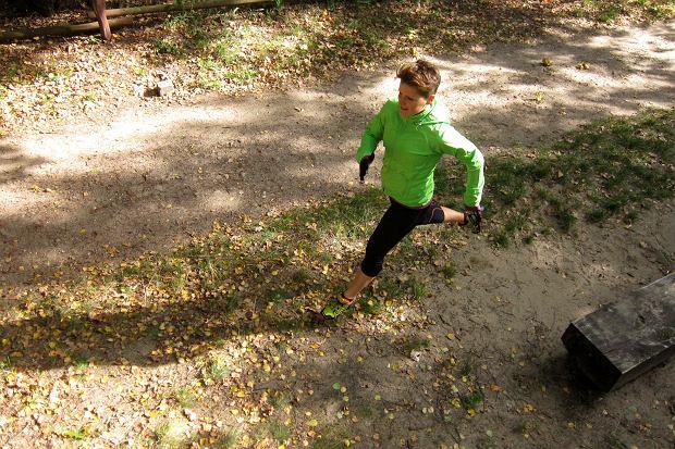 bieganie terenowe, trening, bieganie